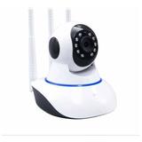 Cámara Wifi 3 Antenas Robótica Doble Comunicación