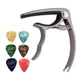Accesorios Para Guitarra Acustica Guitarra Capo Puas Para Gu