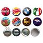 Botones Publicitarios De 5,5 Combo De 100 Und