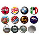 Botones Publicitarios De 5,5 Personalizados Por Unidad
