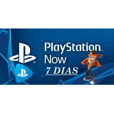 Playstation Now 7 Dias
