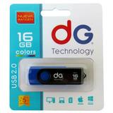Memoria Usb 16gb Dg Original Con Garantía - Colores Surtidos