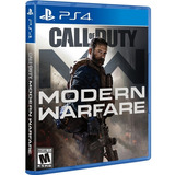 Call Of Duty Modern Warfare Ps4. Fisico. Sellado. Español