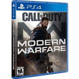 Call Of Duty Modern Warfare Ps4. Fisico. Sellado. Español