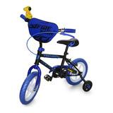 Bicicleta Niño Gw Fireman Doble Freno Con Auxiliar Rin 12