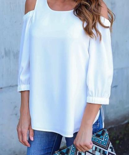 Blusas para mujer Limonni LI689 Campesinas