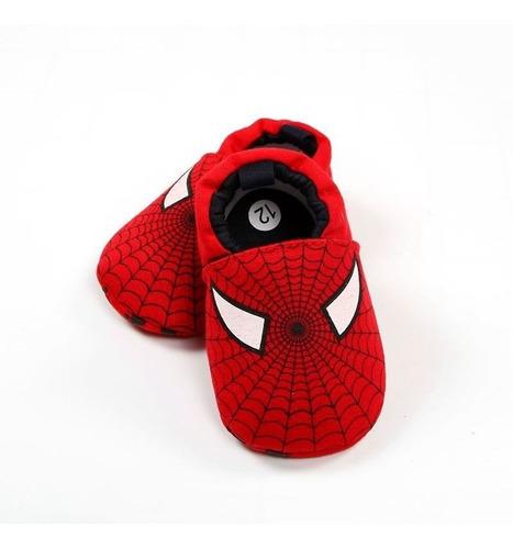 ae940fae2 Zapatos Bebe Antideslizante Babuchas Niño Super Heroes