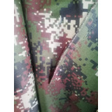 Tela Antifluídos Camuflada Militar Uniformes Dotaciones