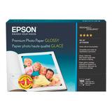 Papel Fotografico Brillante 4 X6  Premium Epson 252 Grs X100