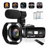 Videocamara Videocamara 4k 48mp Wifi Camara De Youtube Camar