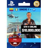 $10.000.000 Millones Dinero Gta V Online Ps4