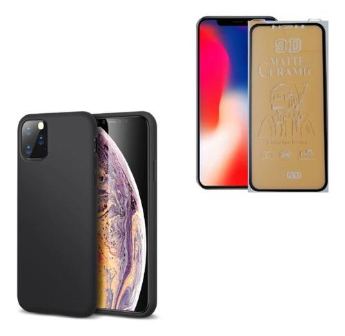 Kit Protector Funda Case iPhone 11 / Xr + Irrompible Visor