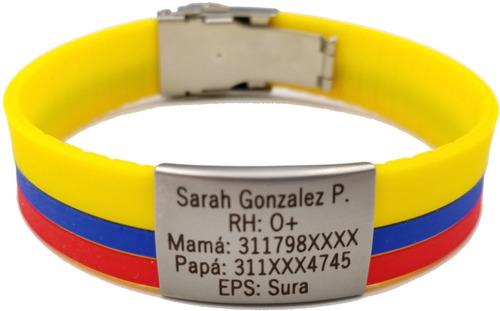2140732520af Manillas De Identificación Envió Gratis S.o.s Id