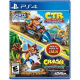 Crash Ps4 Team Racing  Nitro Y Crash Bandicoot Playstation 4