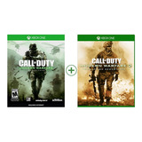 Call Of Duty Modern Warfare 2 Remastered + Call Of Duty Mw 1