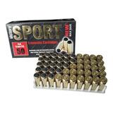Caja Balas 50 Traumatica Original Bola Goma Pistola Carnet