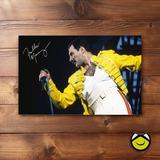 Retablo En Vinilo (60x40) Freddie Mercury + Envio Gratis