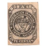 Estampilla Timbre 1859 - 1860 Confederación Granadina