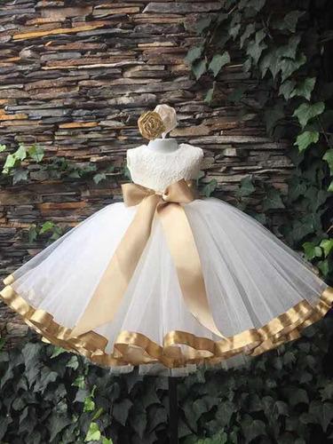 1155c4af1 Vestido Bautizo Exclusivo De Juanas Princess