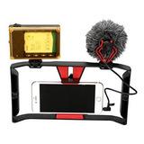 Estabilizador + Microfono + Luz Y Mas Para Smartphone