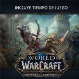 World Of Warcraft: Battle For Azeroth Wow + Tiempo De Juego