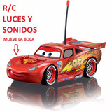 Carro Rayo Mcqueen Control Remoto R/c Mueve La Boca Sonidos