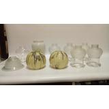 Bricero Antiguo Para Lampara En Cristal Precio X C/u