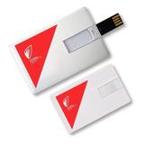 Memoria Usb Personalizada Tipo Tarjeta De 8gb  Con Impresión
