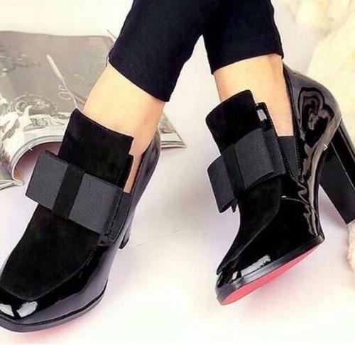 e02e781e Zapato Mujer Moño Charol 7/2 Sandra Cano Shoes