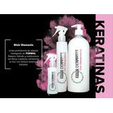 Keratina Alisadora Permanente Sin Formol +shampoo Sin Sal.