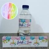 Botellas De Agua.personalizada Fiesta O Recordatorio