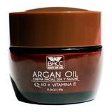 Crema Aceite De Argán Q-10 Vitamina E Bacc Día Y Noche X 60g