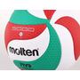 Balon Voleibol Molten 5000 Deporte Cuero Obsequio Rodilleras