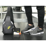 Zapatos Hombre +bolso+billetera, Tenis, Deportivos