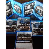 Rainbow Six Siege Ed Deluxe, Físico Juego Sellado !envió Ya!