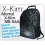 Maleta Morral Negro En Lona Mb-56a X-kim 15.6   6 Bolsillos