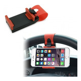 Soporte Celular Para Volante De Carro, iPhone, Galaxy, Gps