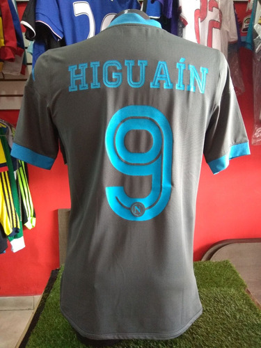 Camiseta Napoli 2015-2016 Higuain M  249990 f937d1720a705