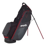 Talega Ping  Hoofer Stand Bag Graphite/black/red 2018