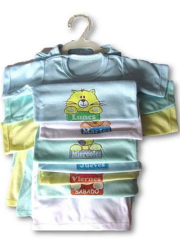 be22047a9 Semanario 14 Piezas Para Niño/niña Multicolor 0-3 Meses Bebe