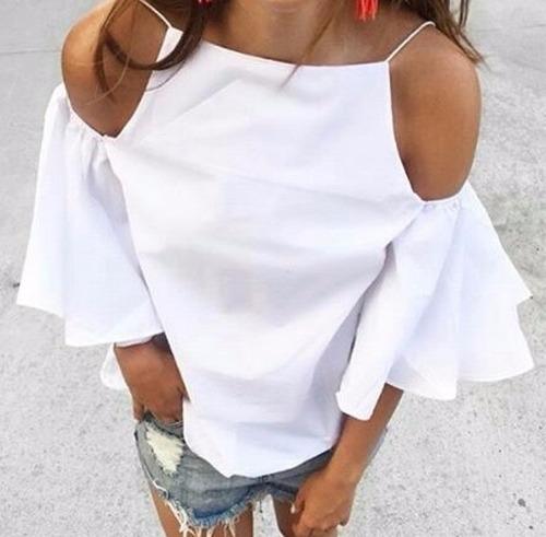 Blusas para mujer Limonni LI920 Campesinas
