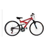 Bicicleta Mtb  Doble Suspension Drive 18 Vel Marco Acero