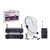 Microfono Inalámbrico Takstar Ts-7210p Uhf Diadema Solapa /