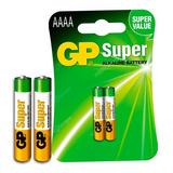 Pila Batería Gp Aaaa 1,5v 4a Original, Pack X 2 E96 Lr8d425