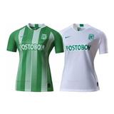 2a4b5e4e Camiseta Atlético Nacional Dama 2019 Nike Tit/sup Envío Grat