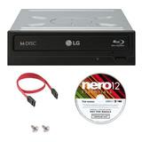 Lg 14x Wh14ns40 Interna Blu-ray Writer Paquete Con Nero Esse