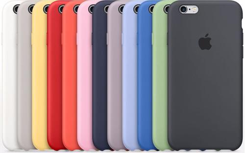 4774276a733 Carcasa Original Funda Silicona iPhone 6s 6s Plus 7 7 Plus