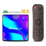 Smart Tv Box X88 Pro 2gb 16gb 4k Android Tv 10 Bluetooth