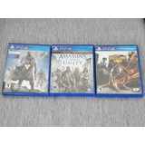 Peliculas Ps4 X 3 Assassins Creed Unity Destiny Second Son