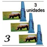 Rhino Retardante Crema Importado Rino X 3 Unidades